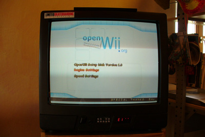 OpenWii Setup Disk